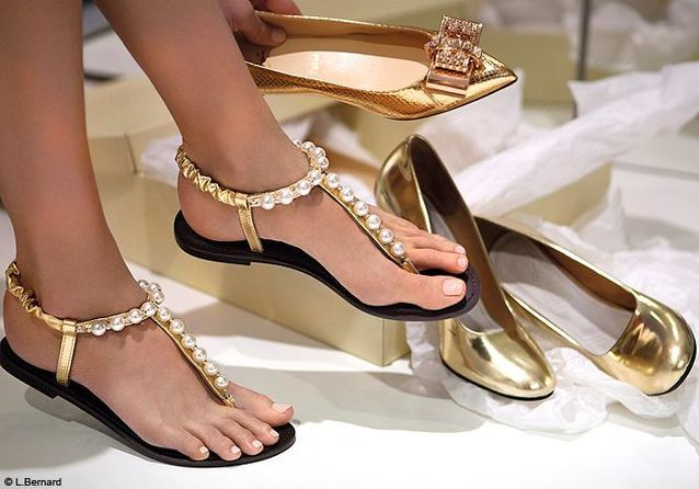 Nu pieds beryl