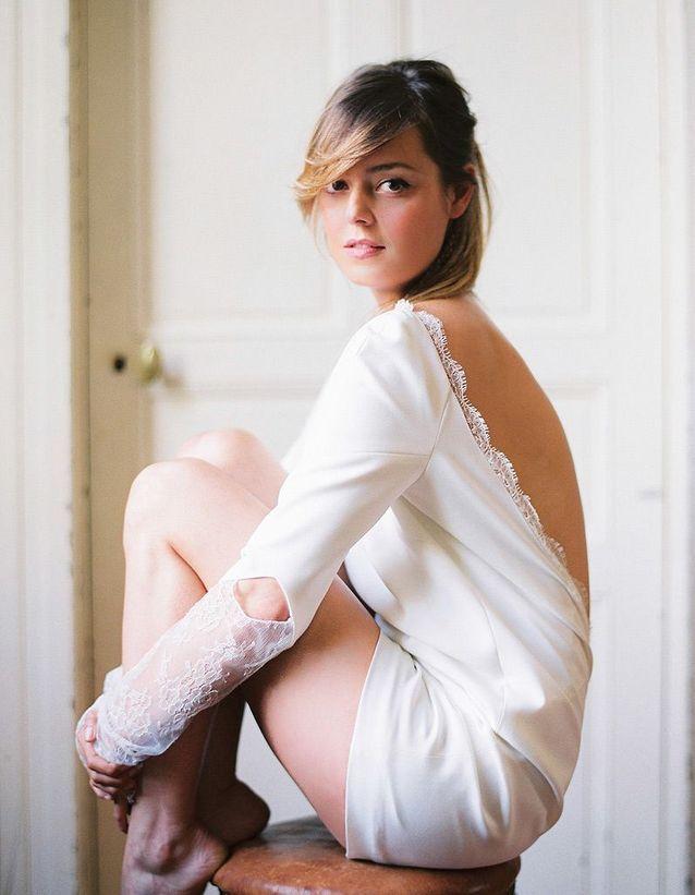 8. Une robe de mariée rock