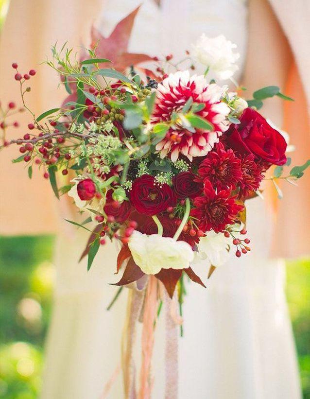 Bouquet De Mariee Rouge Et Blanc 20 Beaux Bouquets De