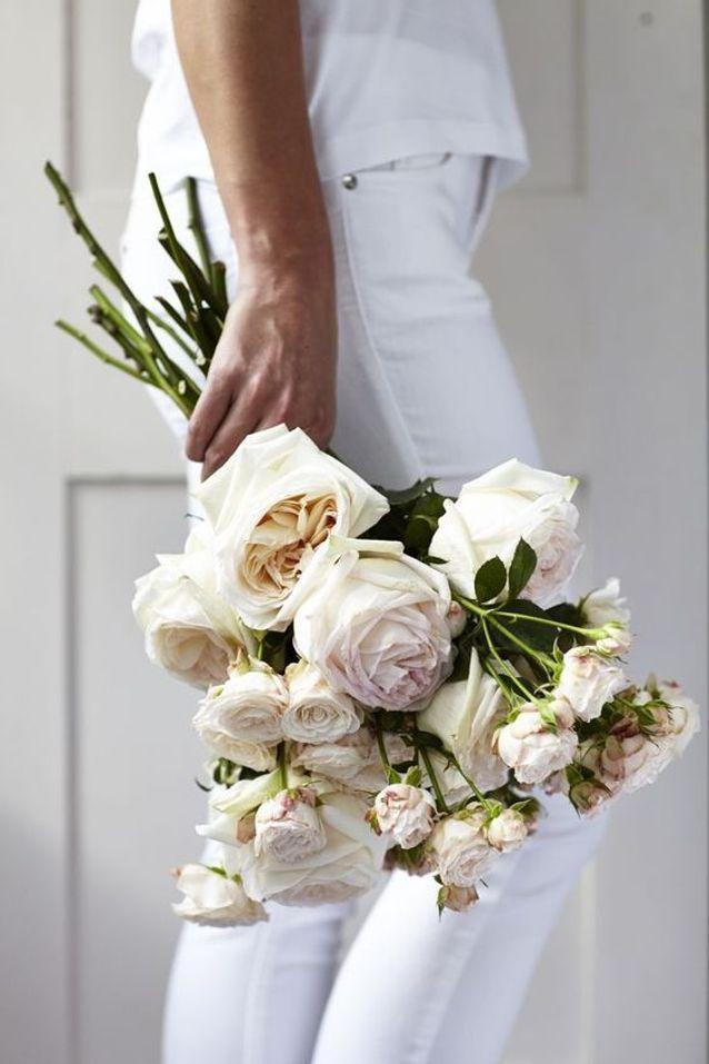 Bouquet de roses chic