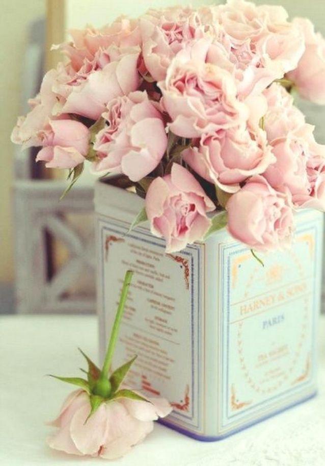 Bouquet de roses romantique
