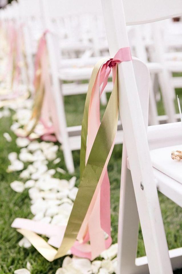 Chaise de mariage pour l'église