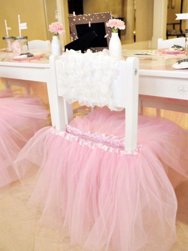 Chaise de mariage princesse