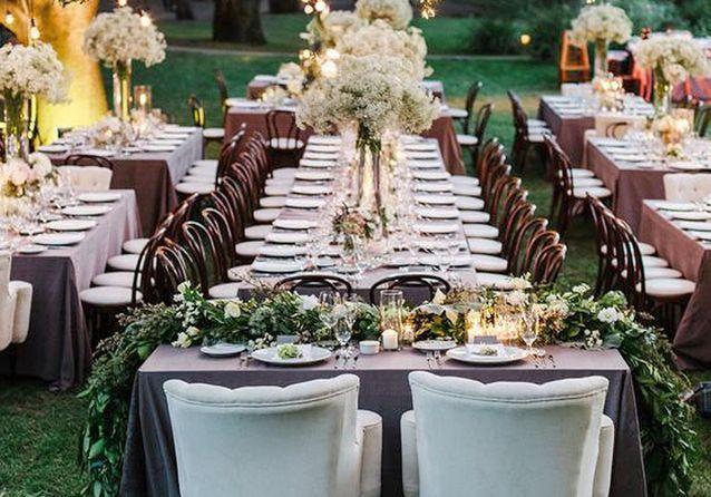 Decoration Table Dhonneur Pour Mariage