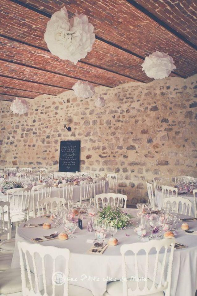 Disposition de tables des invités