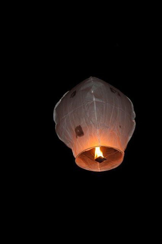 Lanterne volante géante