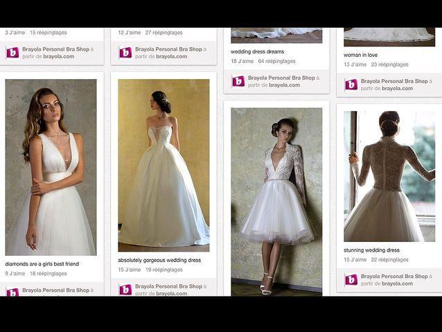 Pinterest mariage Wedding Dresses