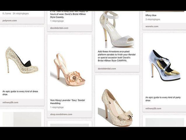 Pinterest mariage Wedding Shoe Candy