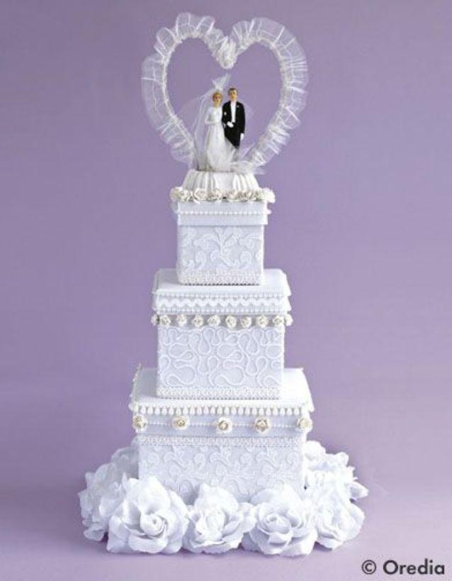 Craquez pour un wedding cake