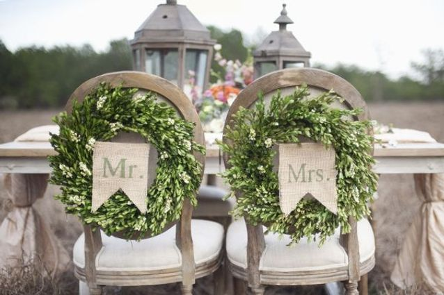 Les chaises « Monsieur » et « Madame »