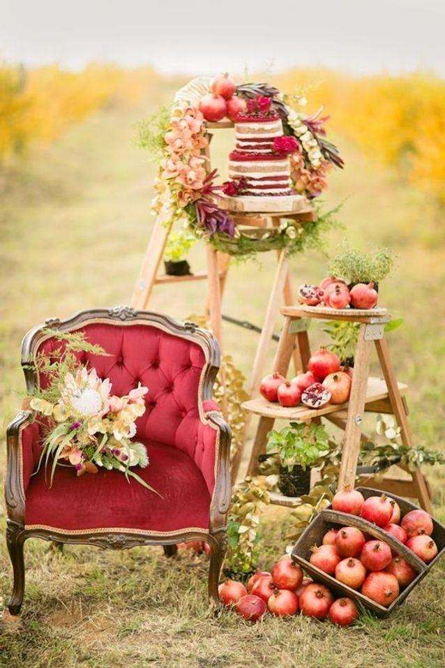 Thème mariage automne