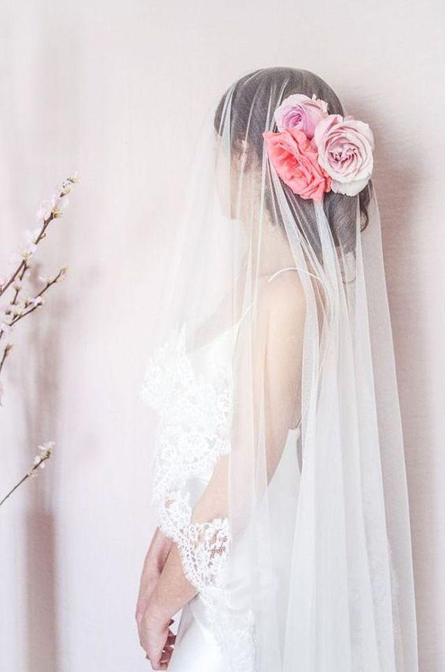 Voile de mariée dentelle