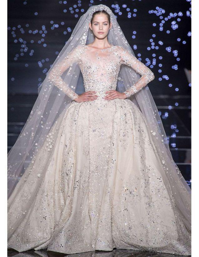 Robe de mariee automne hiver 2015