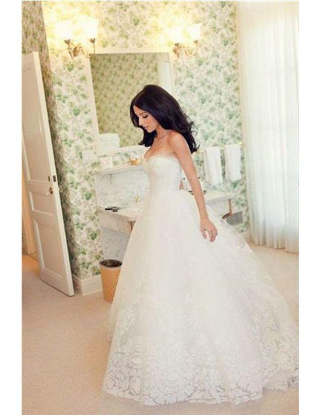 Robe de mariée rétro chic