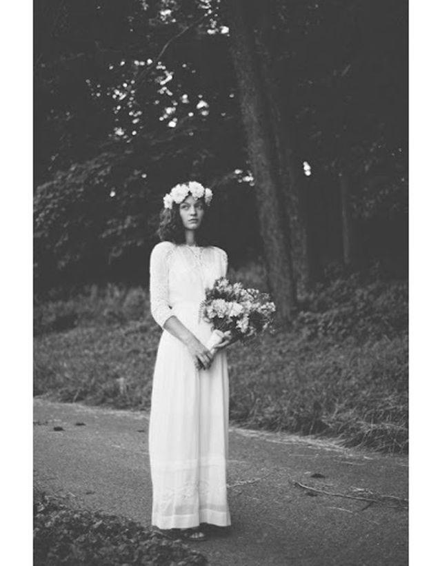 Robe de mariée rétro