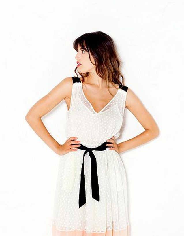 Robe blanche Madame a paris