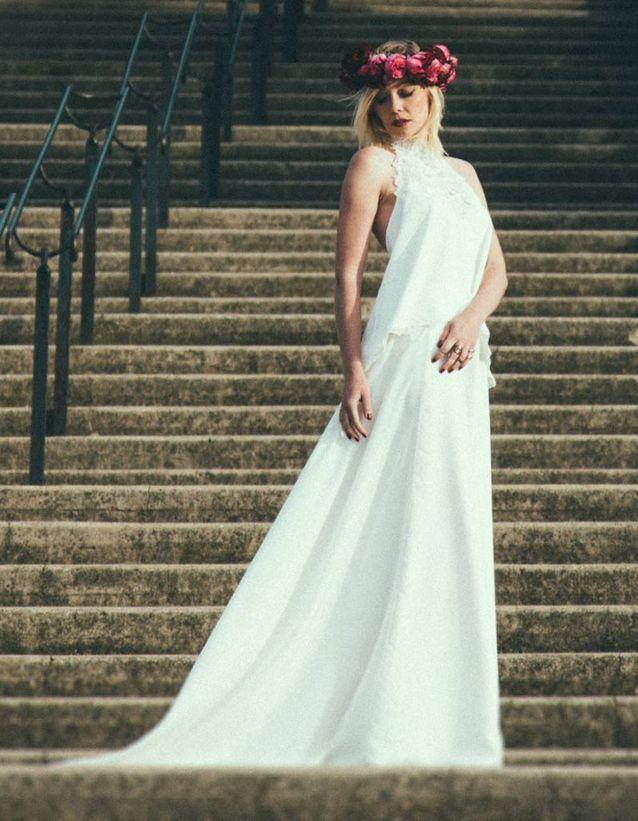 Robe de mariée blanche Manon Gontero