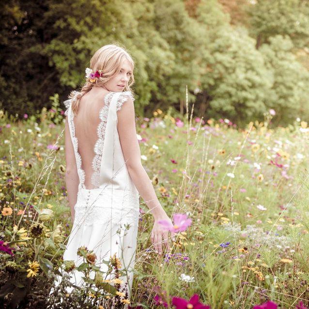 Robe de mariee dos nu Mademoiselle Rêve