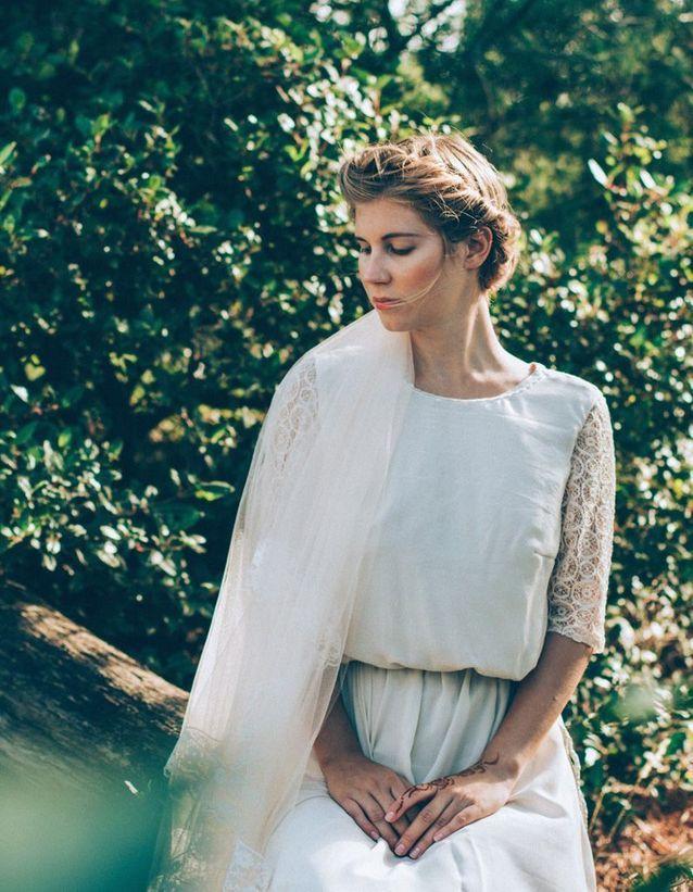 Robe de mariee en crochet Vanda Outh