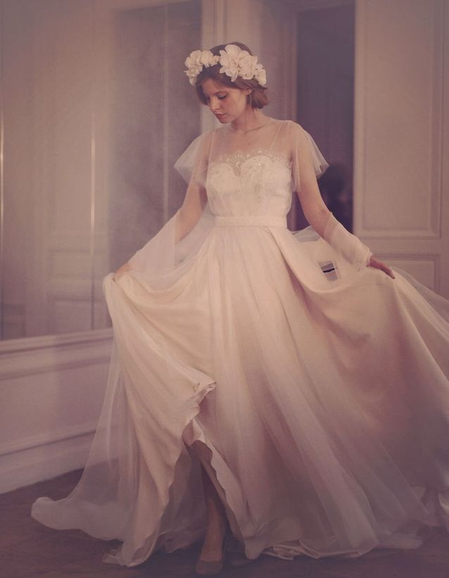 Robe de mariée Fanny Liautard Paris