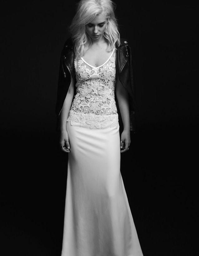 Robe de mariée  rock Rime Arodaky