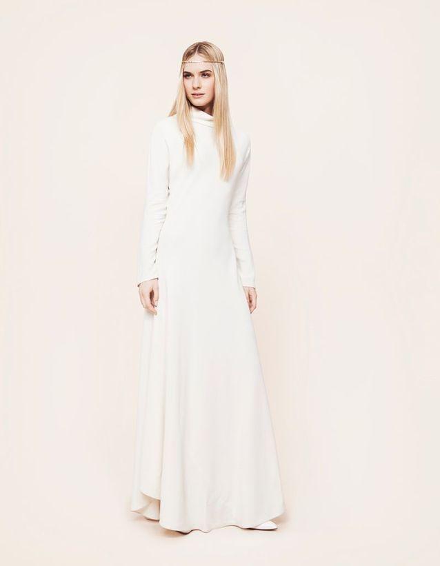 Robe de mariée The Row chez Maria Luisa Mariage