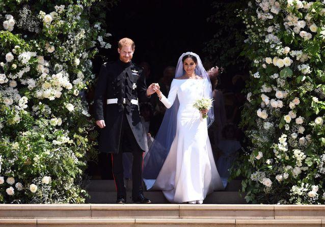 Histoire d'une tenue : la robe de mariée de Meghan Markle