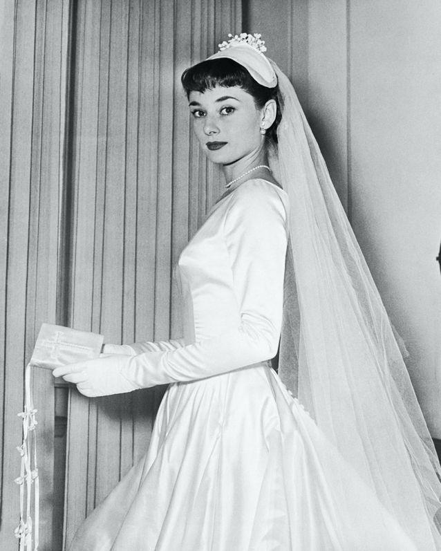 La robe de mariée qu'Audrey Hepburn devait porter lors de son mariage annulé avec James Hanson