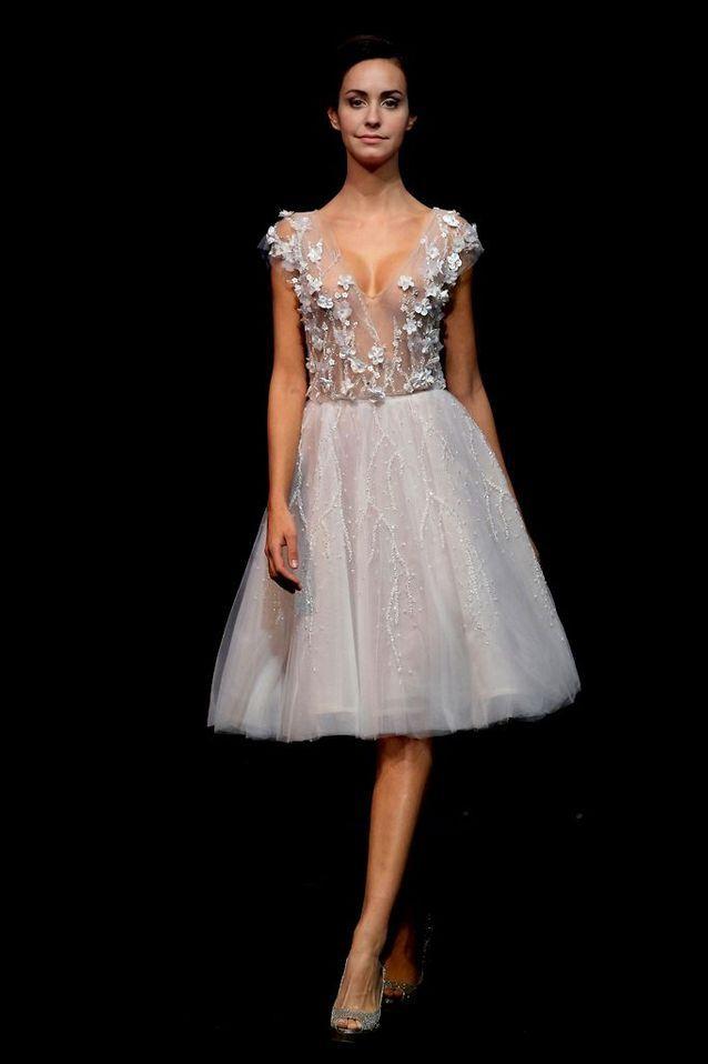 Robe de mariée Abed Mahfouz Haute Couture printemps-été 2015
