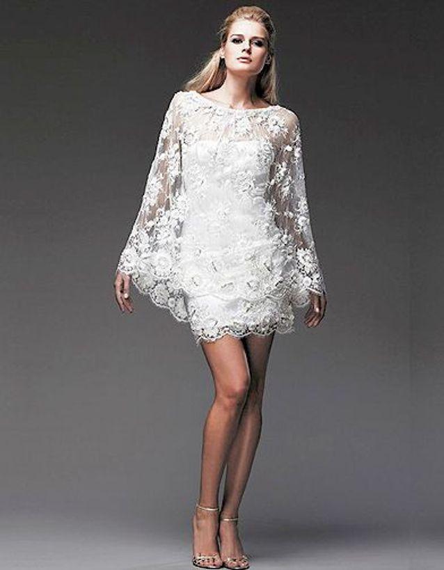 Mode tendance shopping mariage robe mariee anaquasoar FLORE cape HELIUM