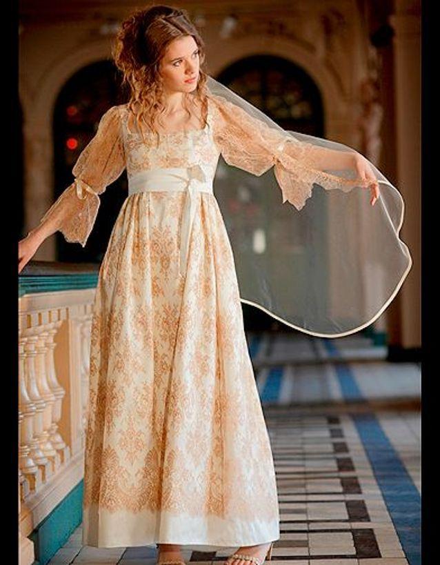 Mode guide shopping tendnace look mariage robe mariee couleur zelia