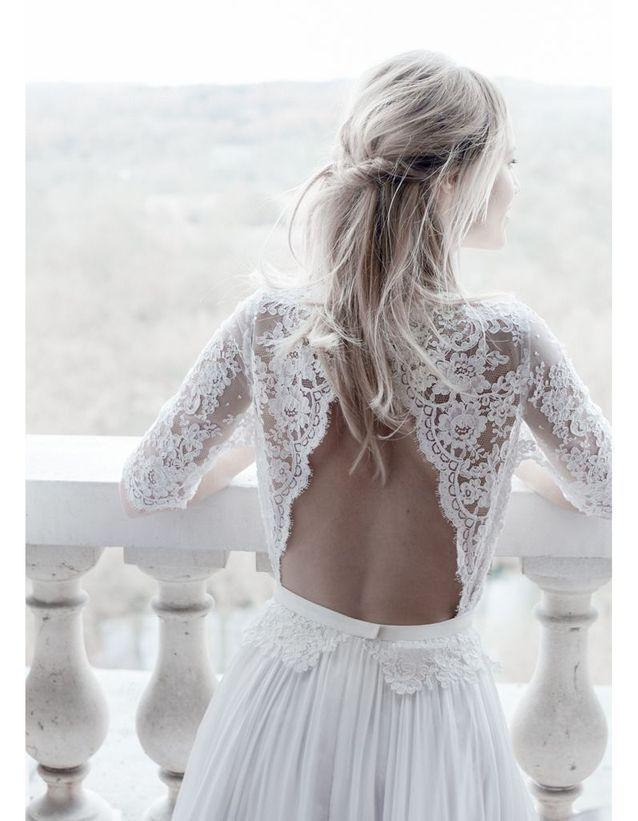 Robe de mariée créateur Margaux Tardits