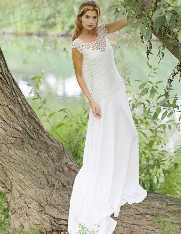 Robe de mariée créateur Marie Laporte