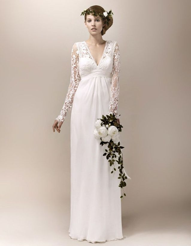 3f60be741aa Robe de mariée créateur Max Chaoul - Et si on s offrait une robe de ...