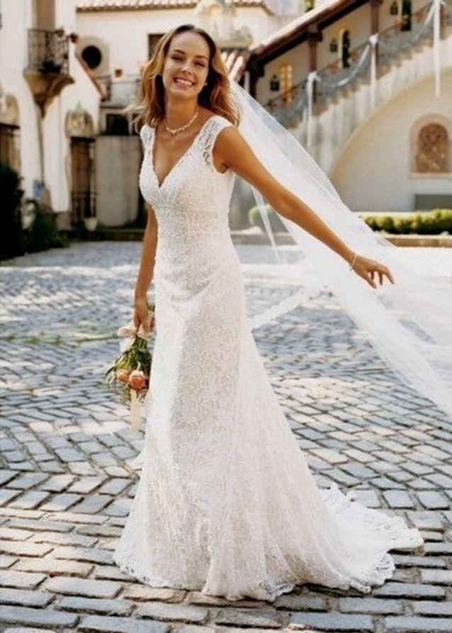 robe de mari e dentelle classique 30 robes de mari e en dentelle rep r es sur pinterest elle