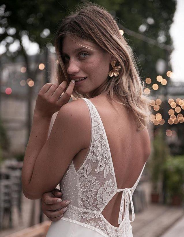 Robe de mariée dentelle dos nu - 30 robes