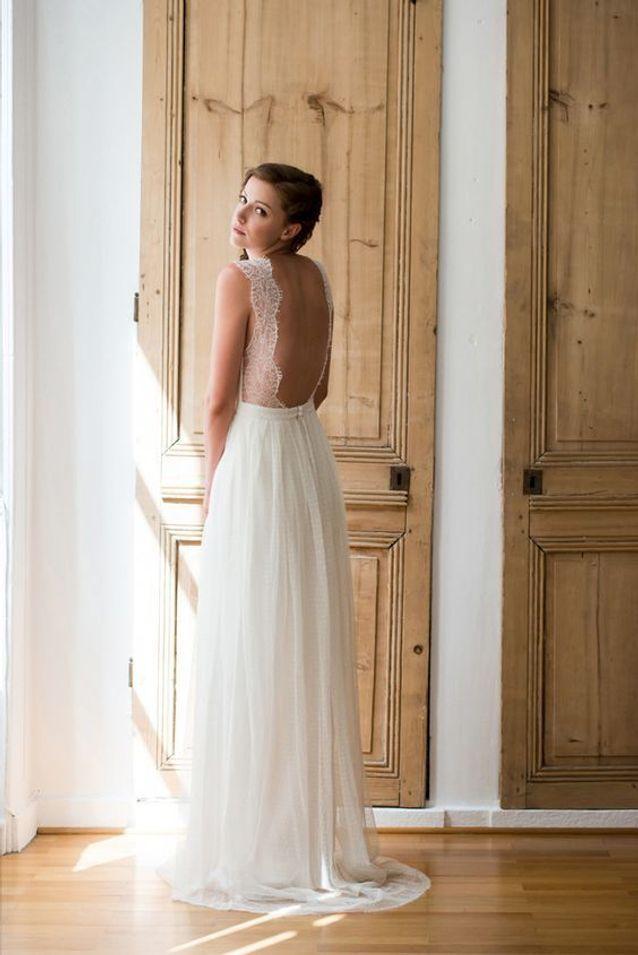Robe de mariée dentelle été 2016