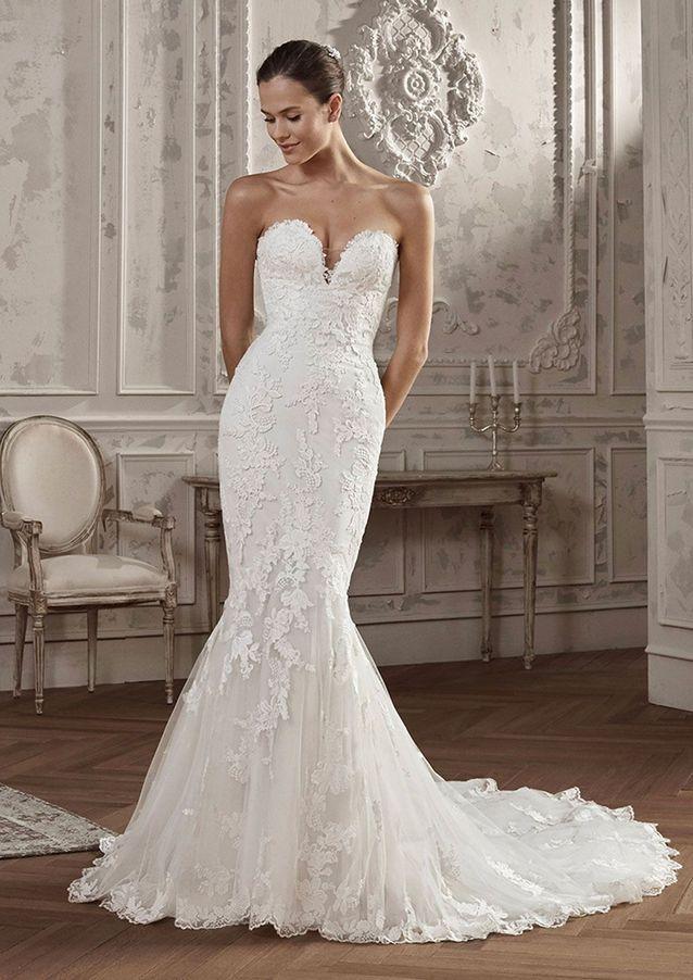 Robe de mariée dentelle sirène