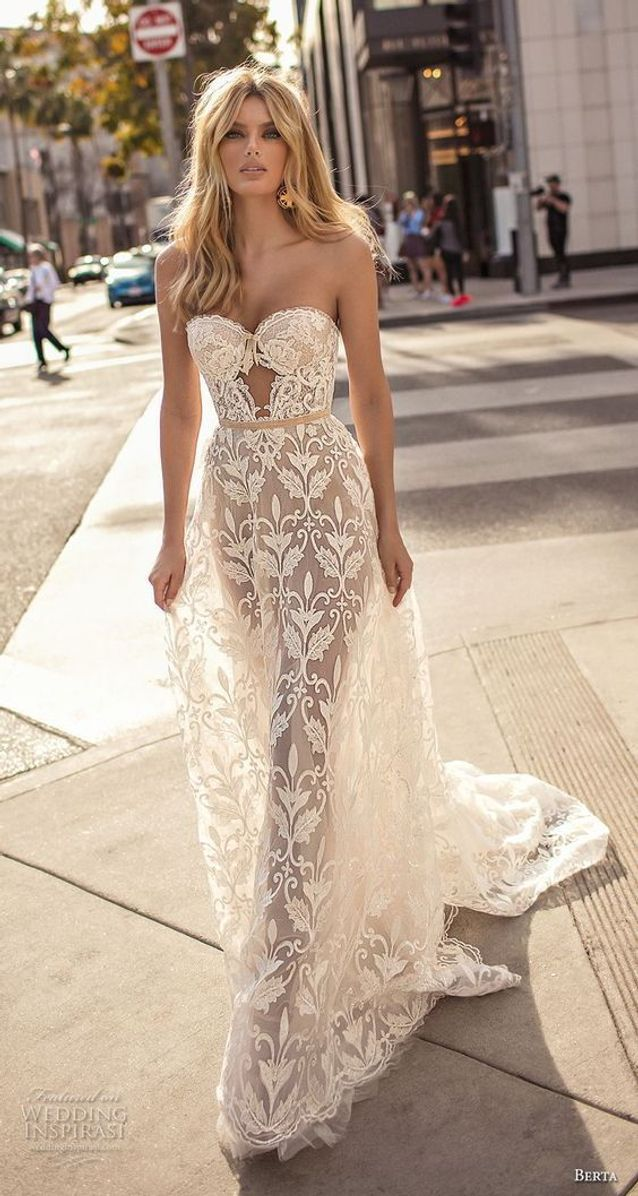 Robe de mariée princesse sexy