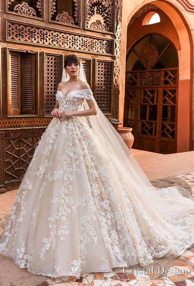 Robe de mariée princesse XXL