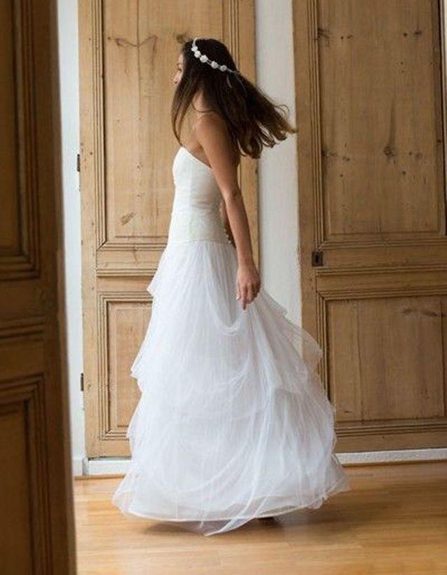 Robe de mariée de princesse classique