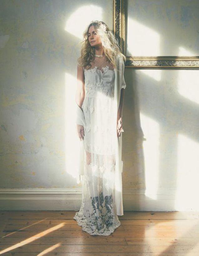 Robe de mariée de princesse délicate