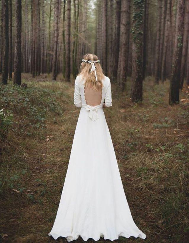 Robe de mariée de princesse dos nu - 66 robes
