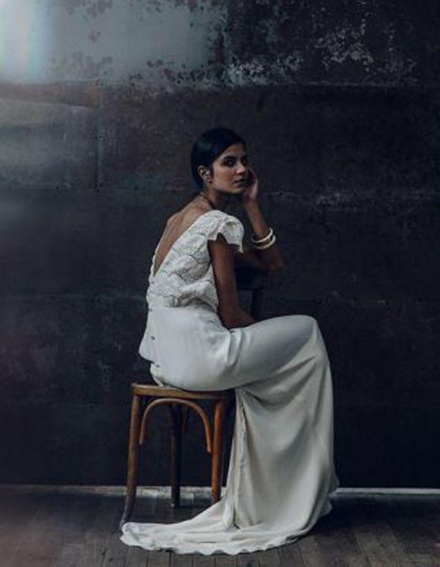Robe de mariée de princesse élégante