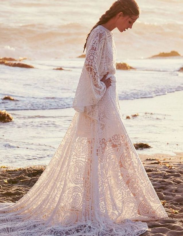 Robe de mariée de princesse gypsy