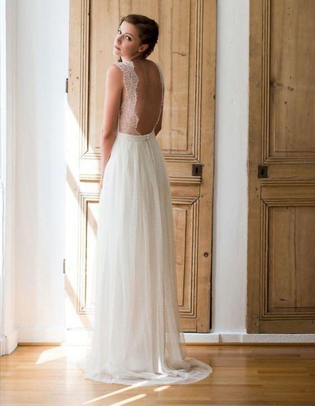 Robe de mariée de princesse légère