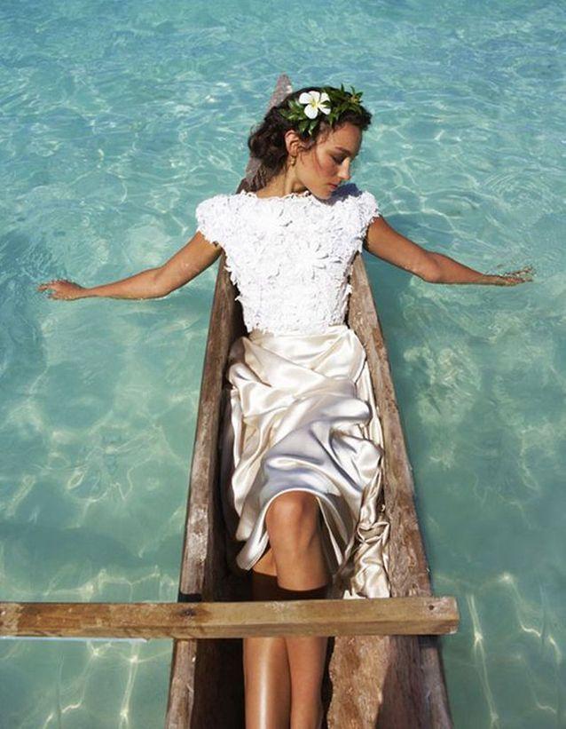 Robe de mariée de princesse satin