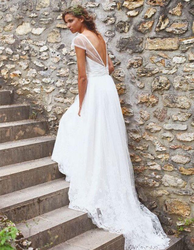Robe de mariée de princesse tendance
