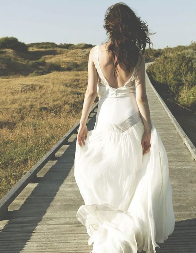 Robe de mariée de princesse vaporeuse