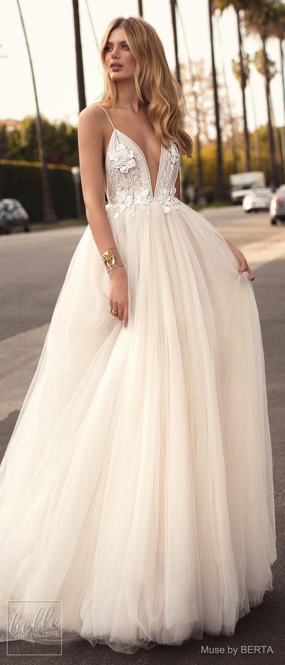 Robe de mariée princesse à jupon en tulle